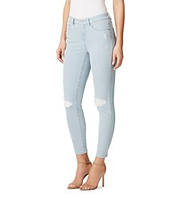 Miracle Jean® Destructed Skinny Ankle Slimming Jeans