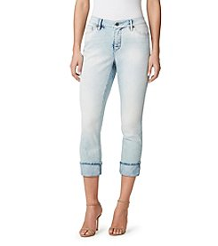 Miracle Jean® Roll-Up Crop Slimming Jeans