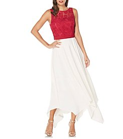 Laundry by Shelli Segal® Handkerchief Gown Dress