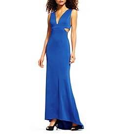 Adrianna Papell® Cutout Long Gown