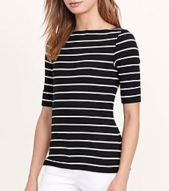 Lauren Ralph Lauren® Striped Bateau Tee