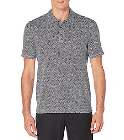 Perry Ellis® Men's Short Sleeve Pattern Polo