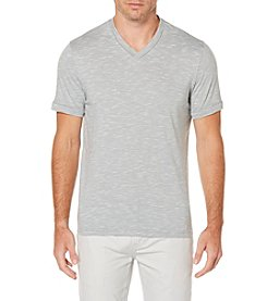 Perry Ellis® Men's Short Sleeve Slub Knit Tee