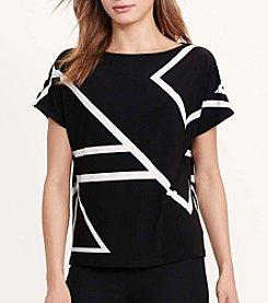 Lauren Ralph Lauren® Geometric-Print Top