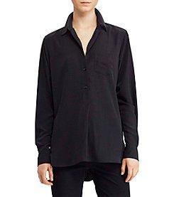 Lauren Ralph Lauren® Crepe Long-Sleeve Tunic