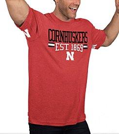G III NCAA® Nebraska Cornhuskers Men's Primetime Short Sleeve Tee