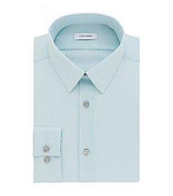 Calvin Klein Men's Big & Tall Solid Dress Shirt