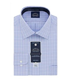 Eagle® Men's Big & Tall Long Sleeve Plaid Dress Shirt