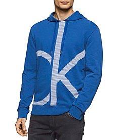 Calvin Klein Jeans Men's Lines Ck Logo Hoodie