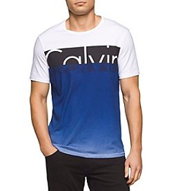 Calvin Klein Jeans Men's Calvin Colorblocked Crew Neck Tee