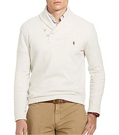 Polo Ralph Lauren® Men's Long Sleeve Shawl Knit Sweater