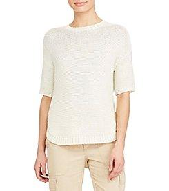 Lauren Ralph Lauren® Asymmetrical Hem Sweater