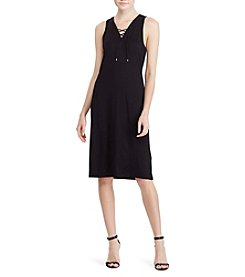 Lauren Ralph Lauren® V-Neck Dress