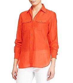 Lauren Ralph Lauren® Voile Shirt