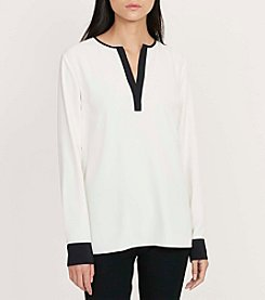 Lauren Ralph Lauren® Color-Blocked Tunic