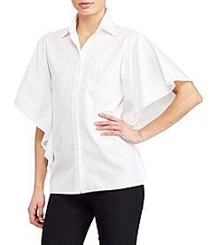 Lauren Ralph Lauren® Flutter-Sleeve Shirt