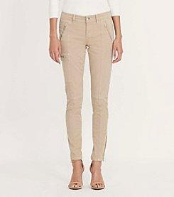 Lauren Ralph Lauren® Skinny Twill Cargo Pants