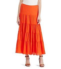 Lauren Ralph Lauren® Gauze Maxiskirt