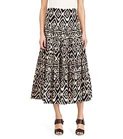 Lauren Ralph Lauren® Geometric Maxiskirt