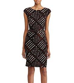 Lauren Ralph Lauren® Geometric-Print Dress