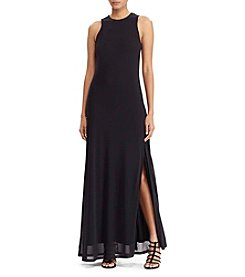 Lauren Ralph Lauren® Mesh-Overlay Maxi Dress