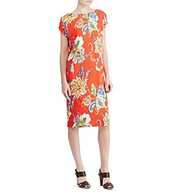Lauren Ralph Lauren® Floral-Print Shift Dress