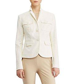 Lauren Ralph Lauren® Herringbone Safari Jacket