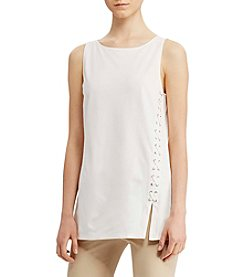 Lauren Ralph Lauren® Lace-Up Ponte Tank