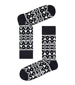 Happy Socks® Men's Abstract Casual Socks