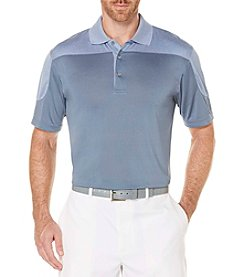 PGA TOUR® Men's Color Blocked Heathered Polo