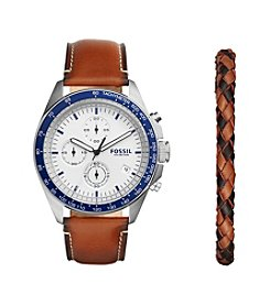 Fossil® Men's Sport 54 Chronograph Watch Box Set