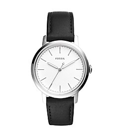 Fossil® Women's Neely Watch With Leather Strap