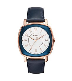 Fossil® Women's Idealist Watch With Leather Strap