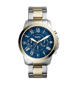 Fossil® Men's Grant Chronograph Watch