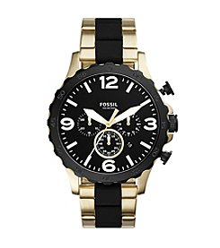 Fossil® Men's Nate Chronograph Watch