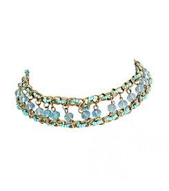 Erica Lyons® Beaded Choker Necklace