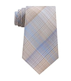 John Bartlett Statements Feathered Plaid Tie