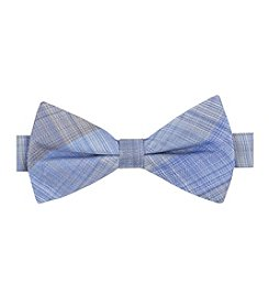 John Bartlett Statements Feathered Plaid Bowtie
