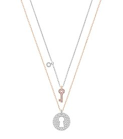 Swarovski® Crystal Wishes Key Pendant Set