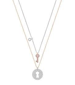 Swarovski® Crystal Wishes Key Pendant Set