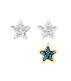 Swarovski® Crystal Wishes Star Pierced Earring Set