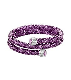 Swarovski® Crystaldust Wrapped Bangle