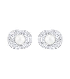 Swarovski® Elaborate Pierced Earrings