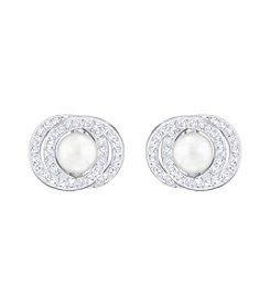 Swarovski® Elaborate Pierced Earrings