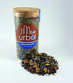 Urbal Tea Brain Booster Tea Jar