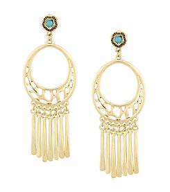 Laundry® Cut Out Chandelier Earrings