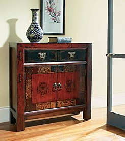Hooker® Furniture Asian Two Door One Drawer Hall Chest