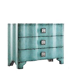 Hooker® Furniture Melange Turquoise Crackle Chest