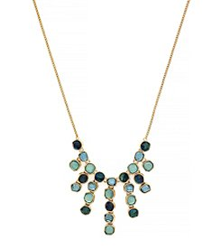 Jessica Simpson Prairie Trail Stones Bib Necklace