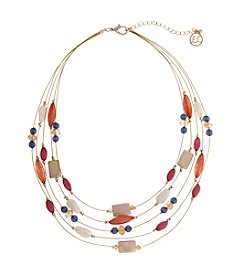 Erica Lyons® Cool Illusion Necklace